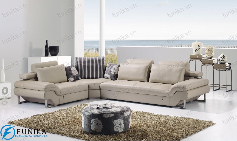 Sofa da nhập khẩu S-301