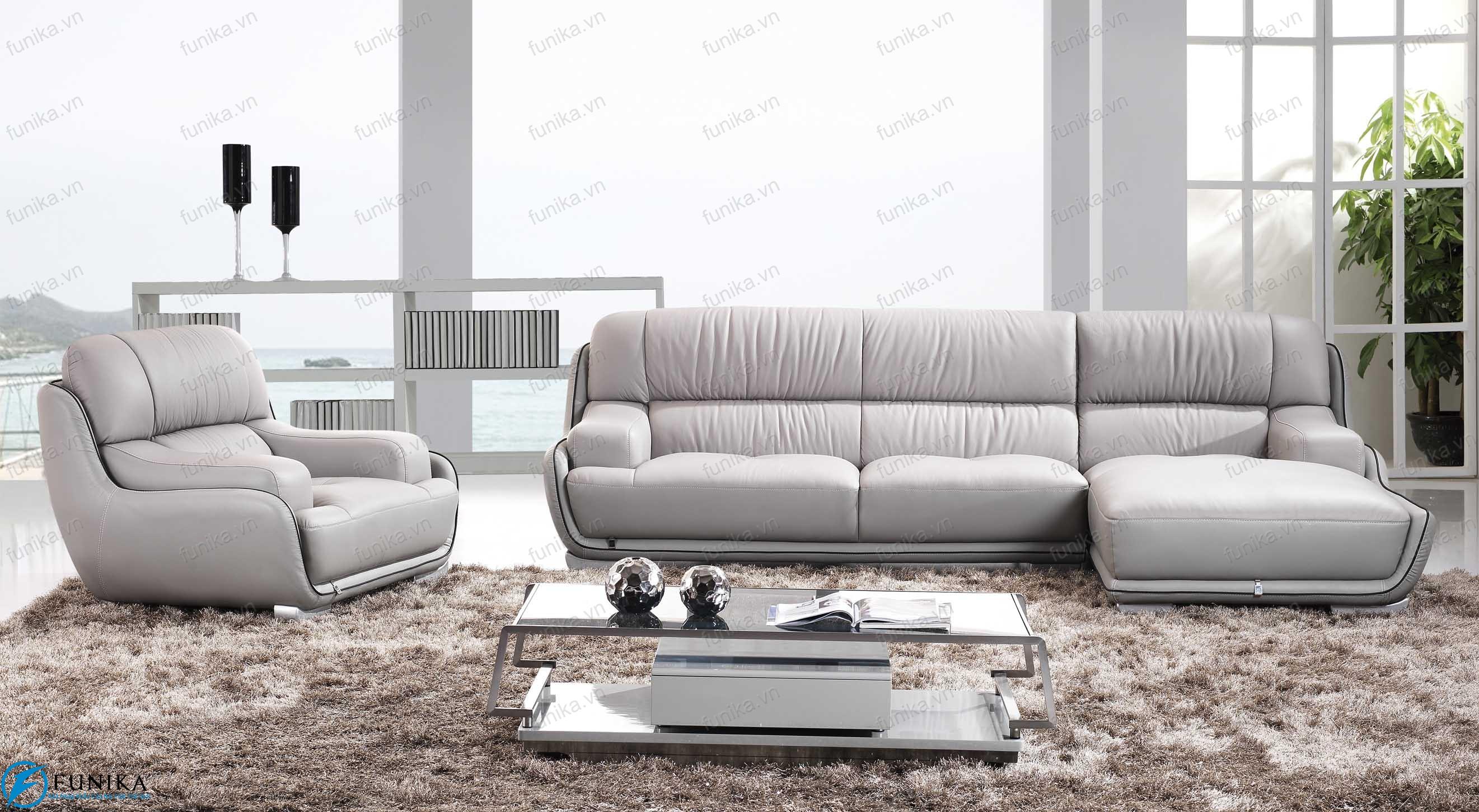 Sofa da nhập khẩu S-303