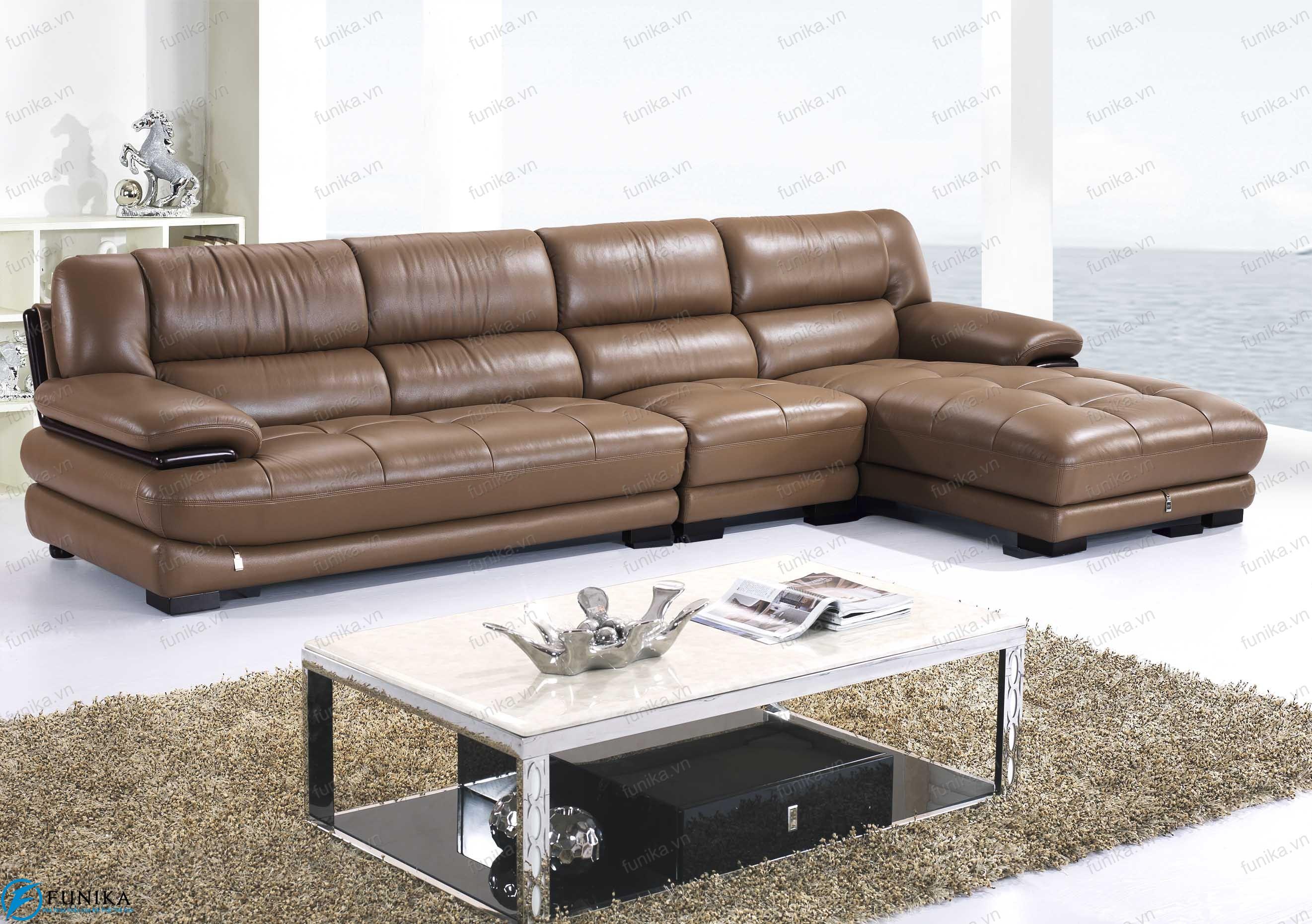 Sofa da nhập khẩu S-339
