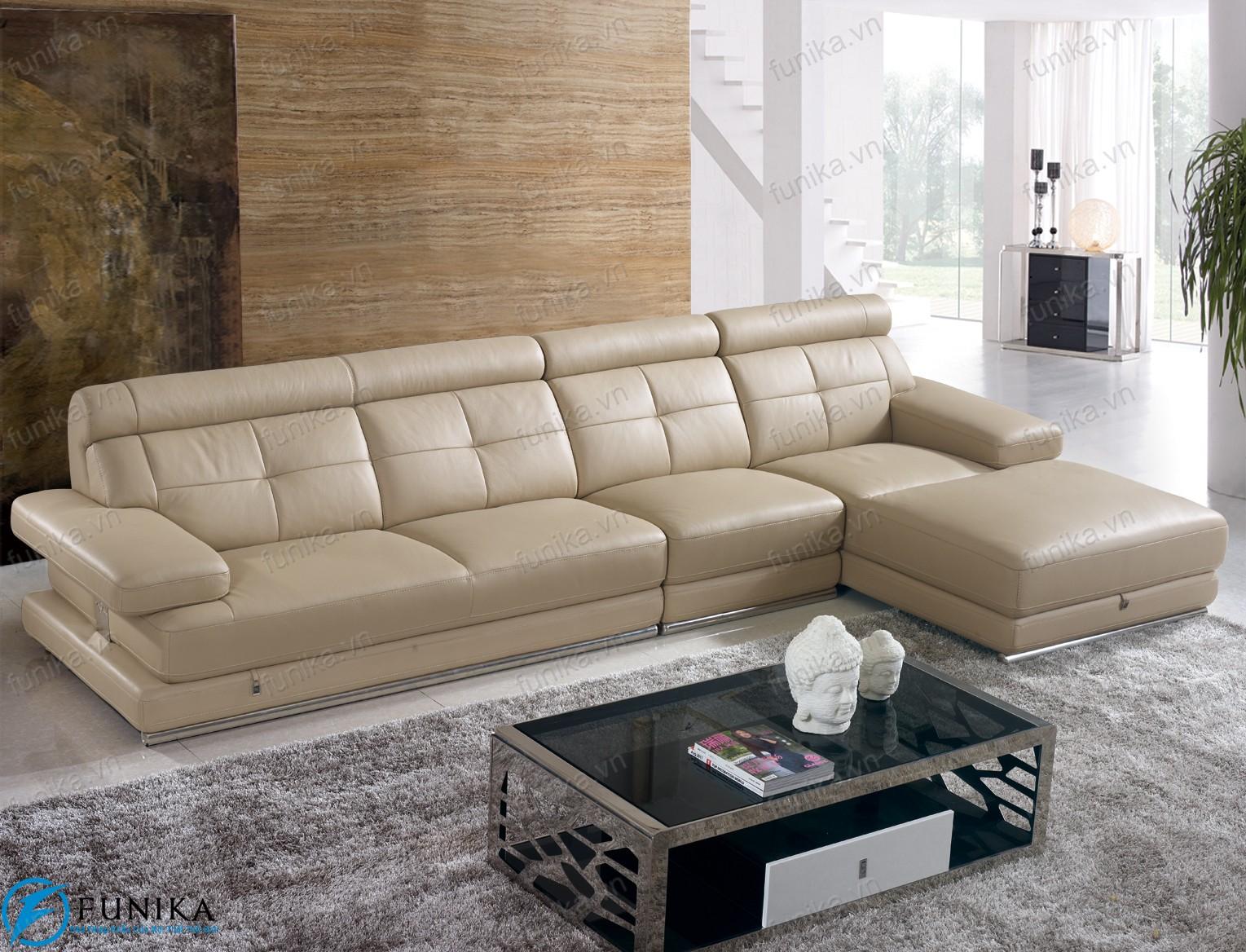 Sofa da nhập khẩu S-377