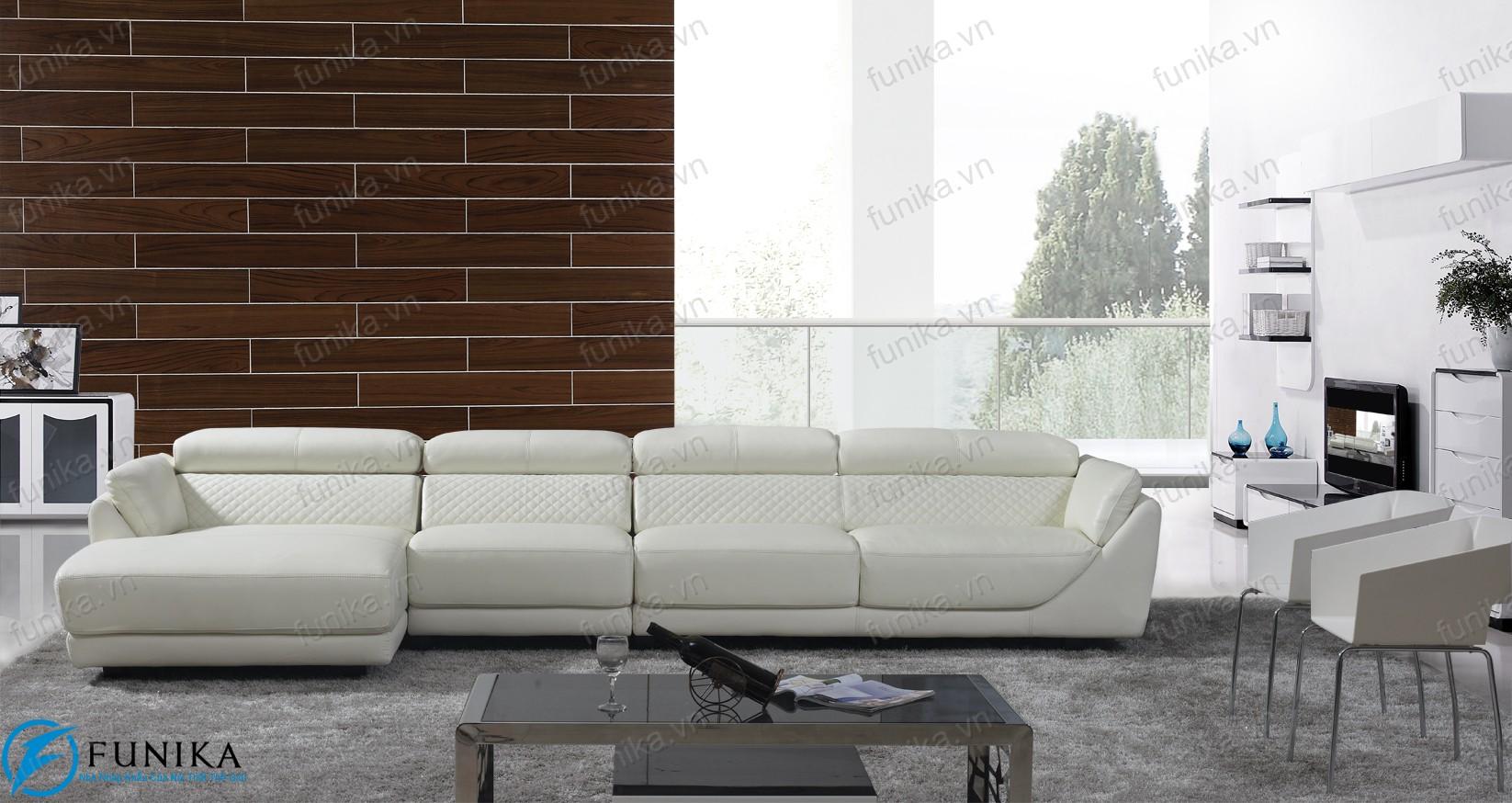 Sofa da nhập khẩu S-397