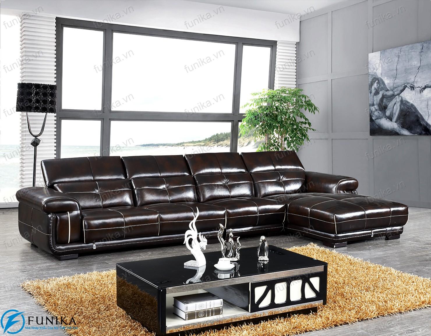 Sofa da nhập khẩu S-530