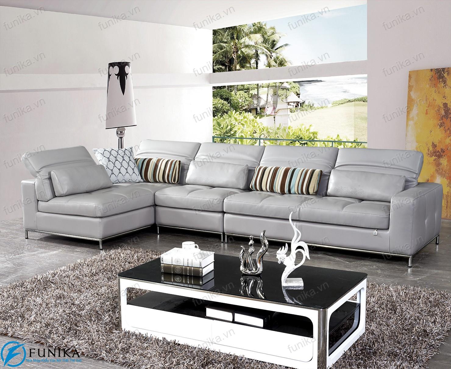 Sofa da nhập khẩu S-538