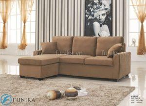 Sofa giường thông minh nhập khẩu Funika có kiểu dáng đơn giản nhưng thanh lịch, tiện nghi