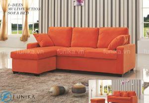 Những mẫu sofa giường thông minh đẹp có tính thẩm mĩ cao, mang đến không gian quây quần và ấm cúng cho ngày Tết sum vầy