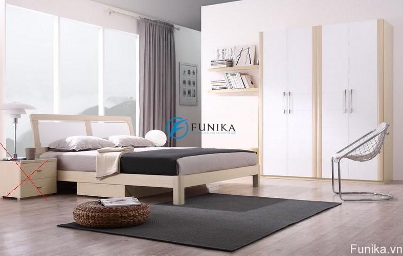 Giường ngủ đẹp laminate F3022D