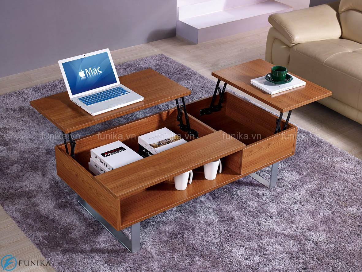 Bàn trà gỗ thông minh cao cấp phù hợp với nhiều không gian và gia đình khác nhau