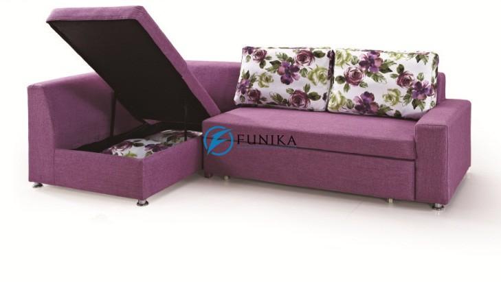 Sofa giường thông minh chất liệu vải cùng gia đình đón năm mới