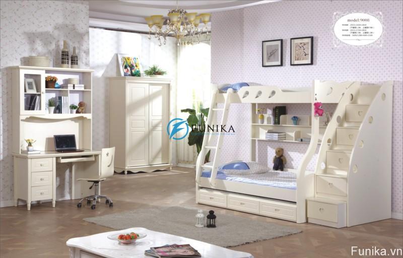 giường tầng nhập khẩu 9008