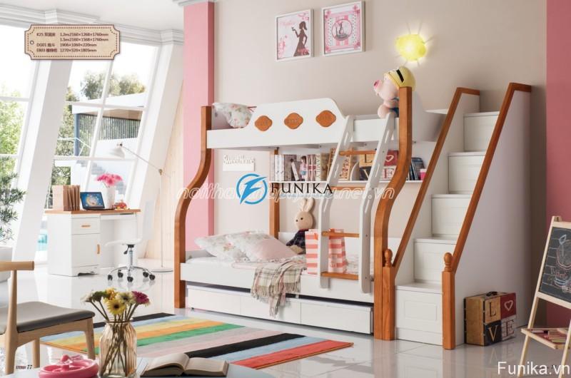 Giường tầng nhập khẩu K25