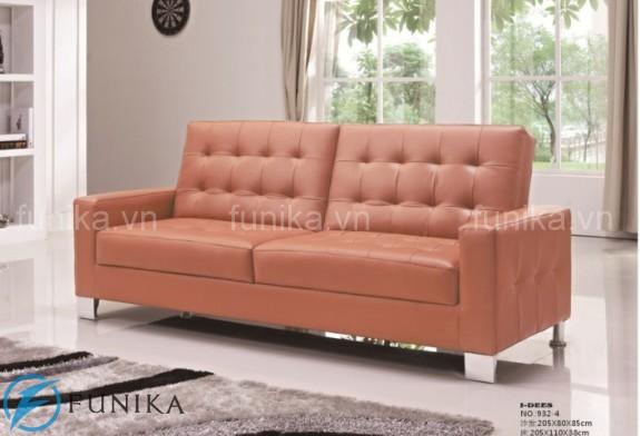 Ghế sofa giường thông minh vải trẻ trung và thanh lịch