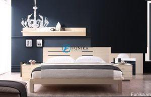 Giường ngủ nhập khẩu laminate F3011D
