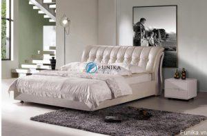 Giường da đẹp nhập khẩu 630
